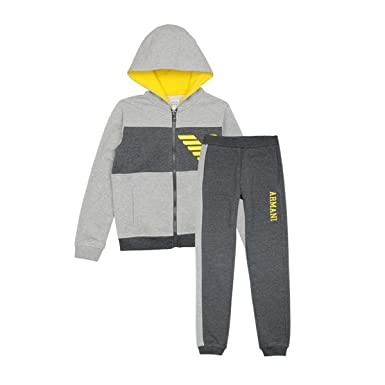 171c211f811 ARMANI JUNIOR - Ensemble survêtement gris - 3 years