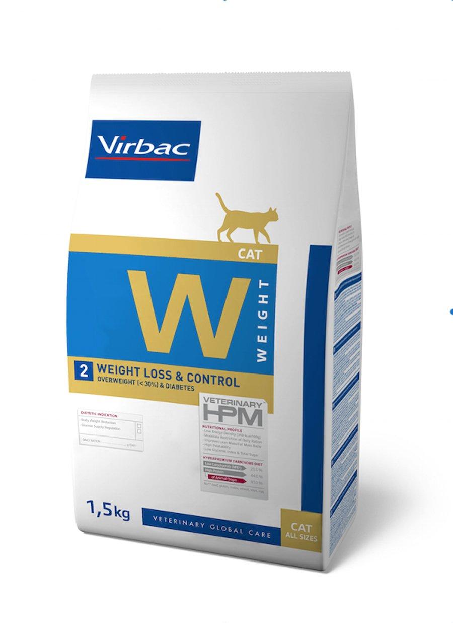 Virbac Veterinary HPM Cat Weight L& C Nourriture pour Chat Sac de 3 kg 1817790