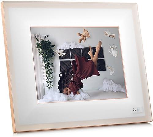 Aura Frames – Digital Photo Frame – Quartz – 9.7 HD Display, Facial Recognition