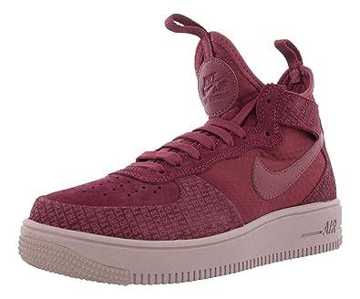 33d3684cf Amazon.com | Nike Air Force 1 Utrafrce Mid Fif Casual Women's Shoes ...