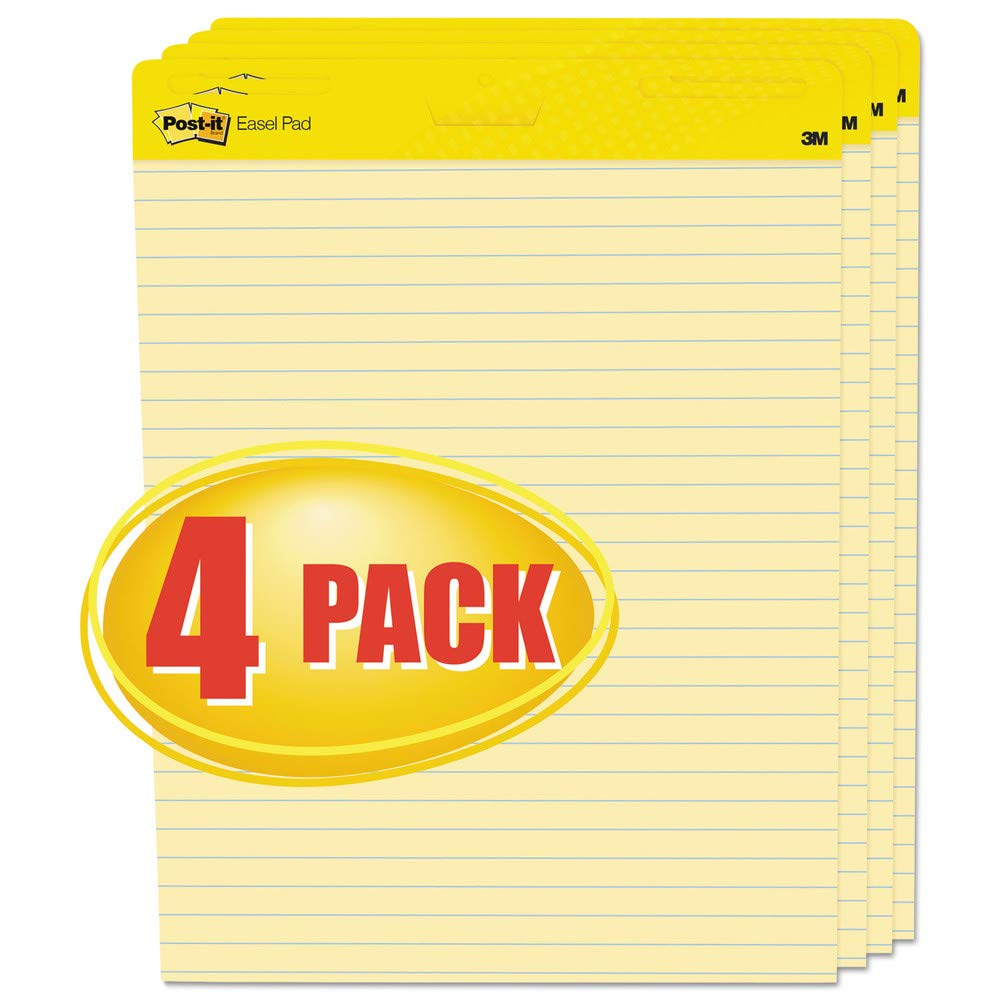 Post-it Post-it Self-Stick Easel Pad (561-VAD-4PK) by Post-it Easel Pads Super Sticky