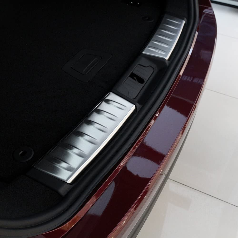 f-pace F Pace X761/2016/car-styling Edelstahl Innen Sto/ßstange hinten Displayschutzfolie Abdeckung Trim 2