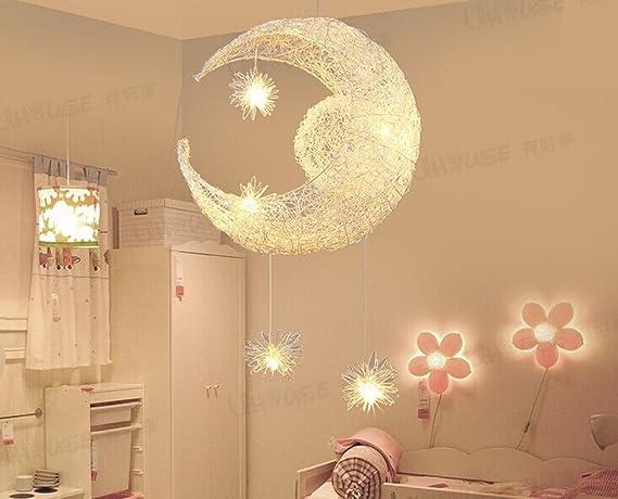 Luna e le stelle e creativi lampadario personalitšu ac ristorante bar