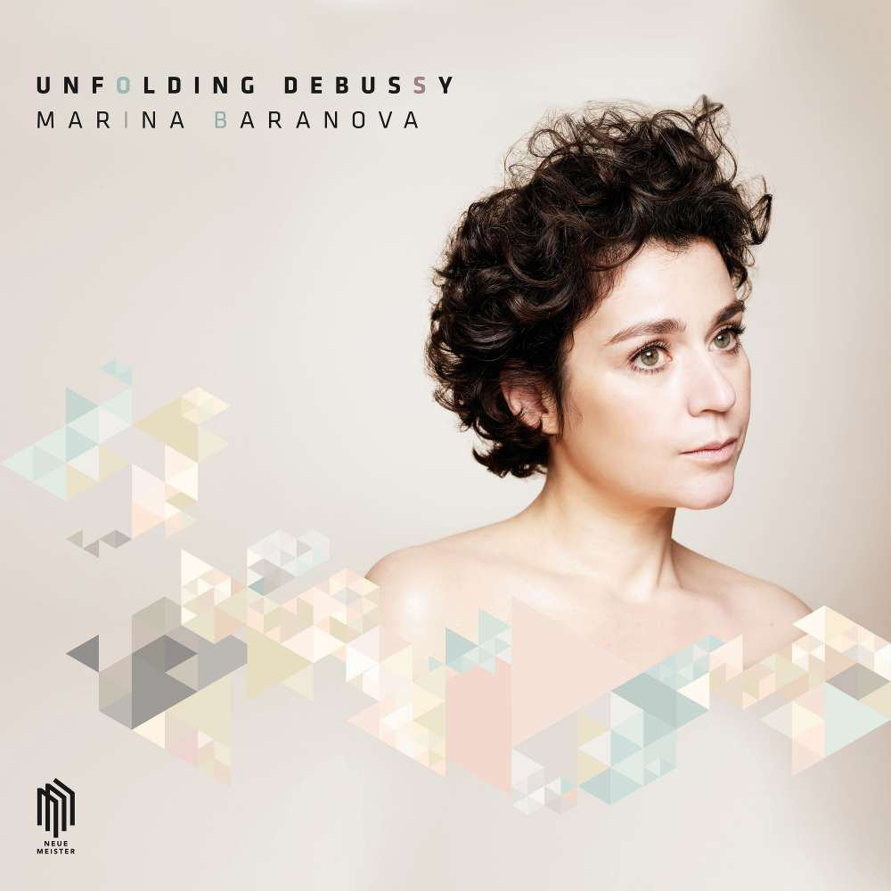 CD : Marina Baranova - Unfolding Debussy (CD)