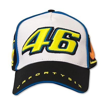 Valentino Rossi MotoGP gorra de béisbol oficial VR46 Negro/Blanco ...