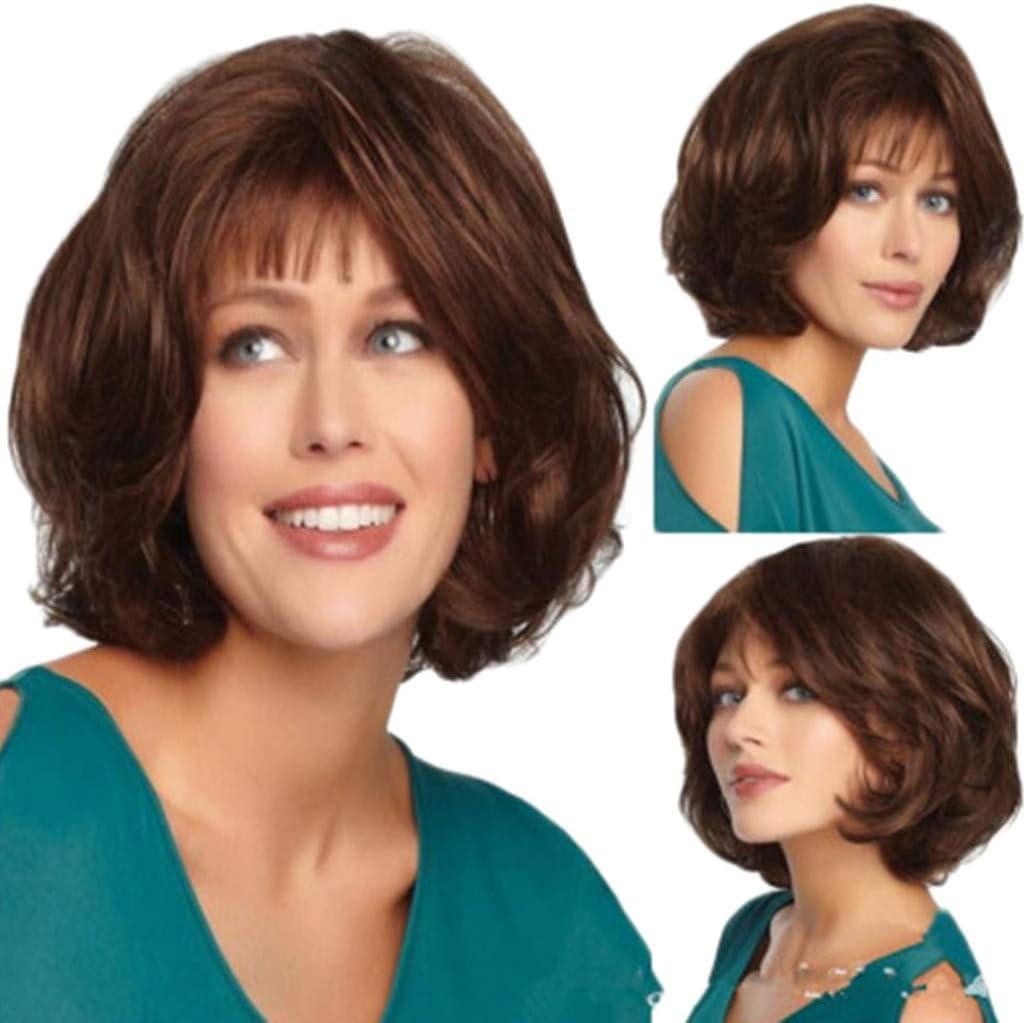 Peluca natural mujer angelof Grease Synthetique Hair moda de ...