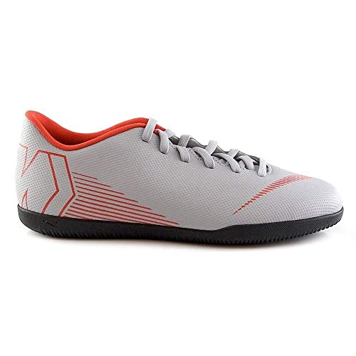 Nike Jr Vapor 12 Club GS IC, Zapatillas de fútbol Sala Unisex Adulto, (Wolf Grey/Lt Crimson/Black 060), 38.5 EU: Amazon.es: Zapatos y complementos