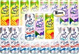 La Croix C'urate Variety Pack! Cola Nicola, Blackberry Cucumber, Pineapple Strawberry Curate, 12 OZ Cans (3 Flavor Variety Pack, Total of 16 Cans)