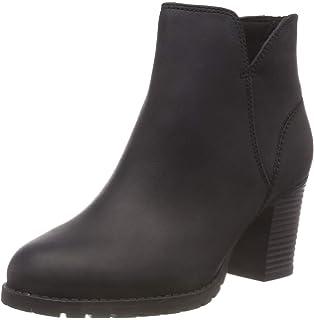 Clarks Damen Othea Ruby Kurzschaft Stiefel, Braun (Dark Tan Leather ... 57b88256b9