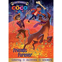 Disney Pixar Coco Friends Forever: Coloring - Activities - Stickers