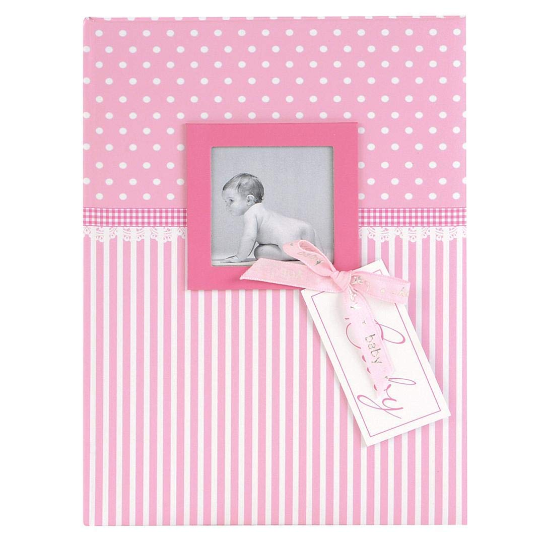 Goldbuch 11801 Baby Days Book Sweet Heart with Space for Photos, 44 Pages Illustrated, Approximately 21 x 28 cm, Pink