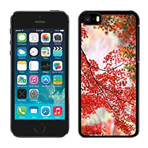 New Personalized Custom Designed For iPhone 5C Phone Case For Autumn Maple Tree Phone Case Cover