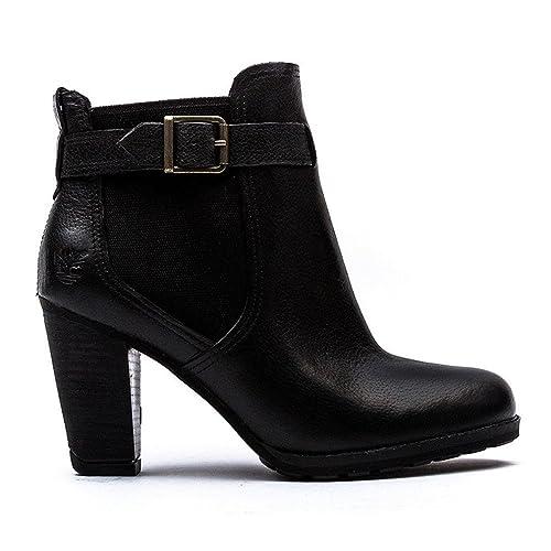 timberland high heel boots amazon