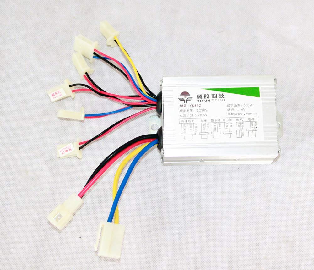24V36V48V 500W Electric Motor Controller For Brush DC Motor Speed Controller Brushed motor controller (48V500W)