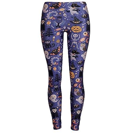 XUMI Pantalones De Yoga, Invierno Otoño Mallas De Impresión ...