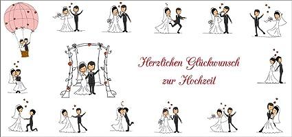 Tarjeta de felicitaciones boda (10657) con sobre: Amazon.es ...