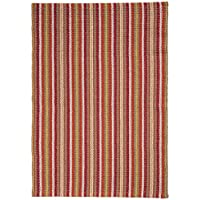 Trinidad Stripe Hand-Woven Eco Cotton Washable Rug Runner