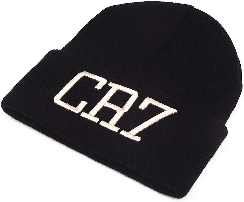 Moktasp Summer CR7 Letter Cap Men Hat Beanie Knitted Hiphop Spring Summer Hats for Women Fashion Caps