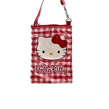 Hello Kitty - Cartera de mano para mujer rojo rojo: Amazon.es: Ropa y accesorios