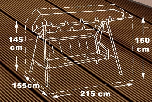 beo 980 388 copertura di protezione per altalena da giardino