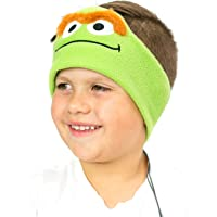 Sesame Street Kids Headphones by CozyPhones - Volume Limited with Thin Speakers & Super Comfortable Soft Fleece Headband…