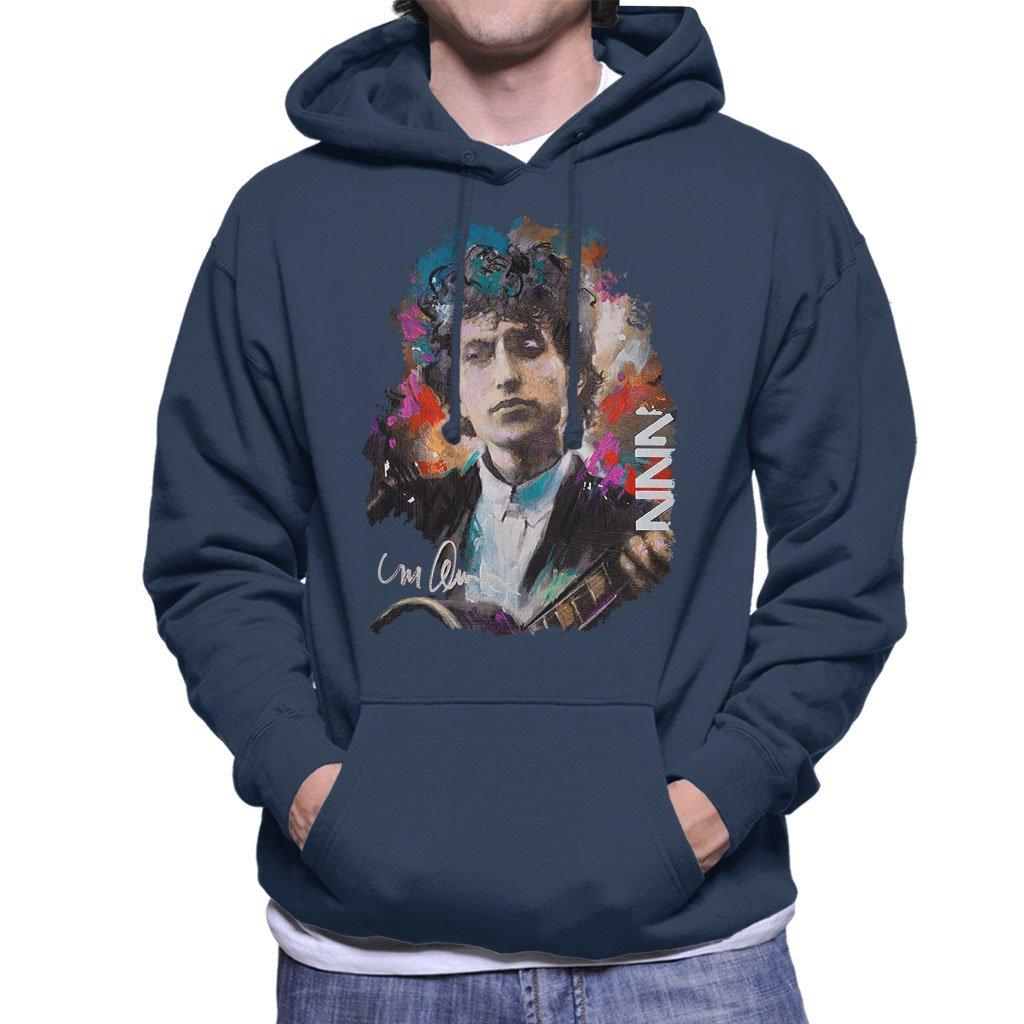 Sidney Maurer Original Portrait Of Bob Dylan Hooded 7353 Shirts