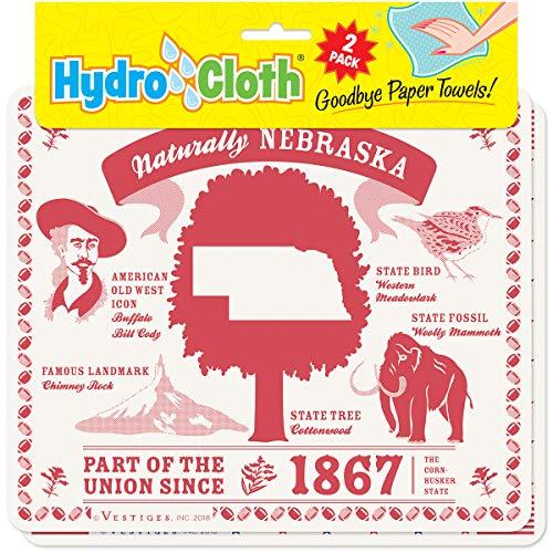 - Fiddler's Elbow Naturally, Nebraska Hydro Cloth   Eco-friendly Sponge Cloths   Reusable Swedish Dish Cloths   Set of 2 Printed Sponge Cloths   Replaces 30 Rolls Paper Towels