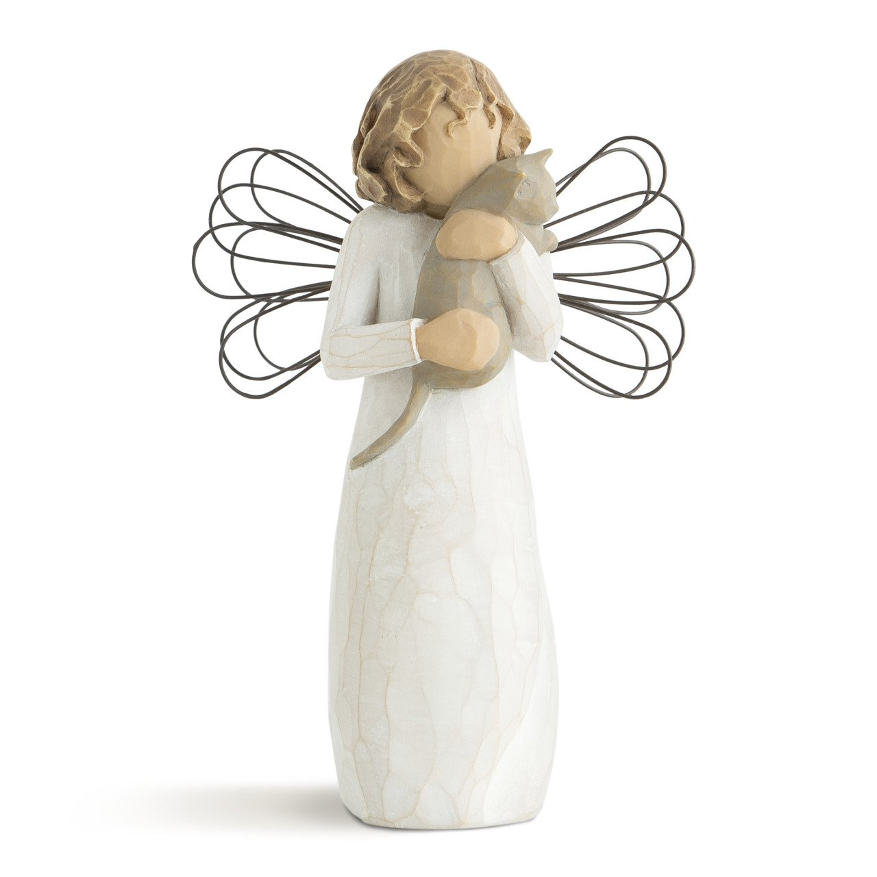 Willow Tree hand-painted sculpted angel, With affection by Willow Tree