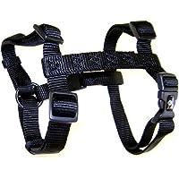 Hamilton Pet Company - Adjustable Dog Harness- Black .63 X 12-20 - CFA SMBK