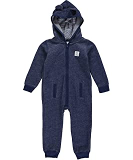 f164850edd35 Amazon.com  Carter s Baby Boys  Hooded Fleece Jumpsuit (18 Months ...