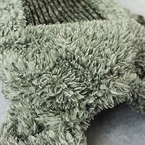 Fitwarm Fuzzy Velvet Thermal Pet Clothes for Dog Pajamas PJS Coat Jumpsuit Medium