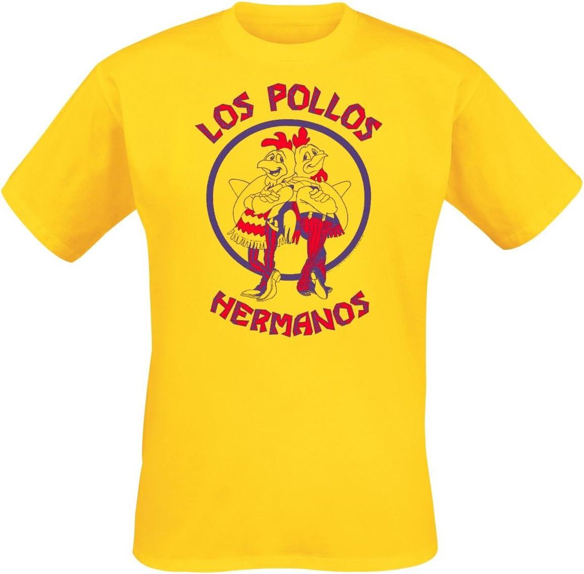 Breaking Bad - Camiseta - Hombre Amarillo Amarillo Medium: Amazon ...