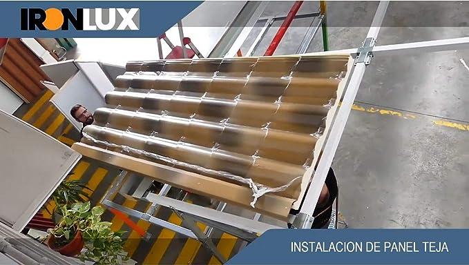 KIT Estructura Galva - Carpa 1 Agua - 2x2x2,5m (h): Amazon.es ...