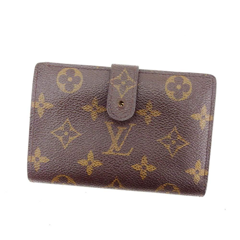 (Louis Vuitton) ルイヴィトン がま口財布 二つ折り メンズ可 ポルトモネビエヴィエノワ M61663 モノグラム 中古 L849   B072KHD19V