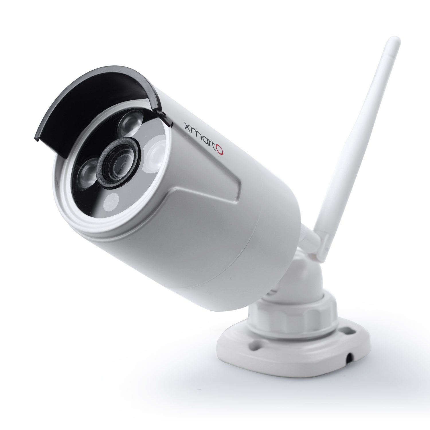 [Audio Video & 960p 4mm] xmartO WB1324 960p HD 1.3 Megapixel IP Network Wireless Security Camera Weatherproof Outdoor with 80ft IR Night Vision (White) by xmartO