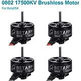 BETAFPV 0802 17500KVブラシレスモーター2sブラシレスBeta65X などに2S FPVフープドローン用