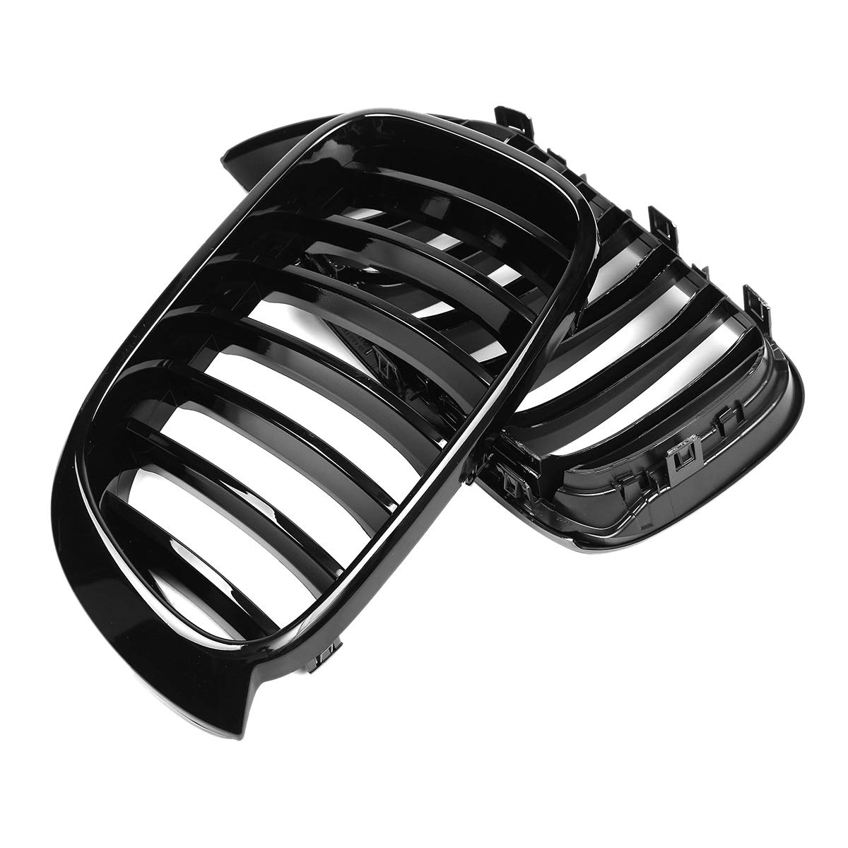 Andifany Gloss Black Car Front Kidney Grill Grilles for X3 F25 X4 F26 2014 2015 2016 2017 Replacement Car Styling
