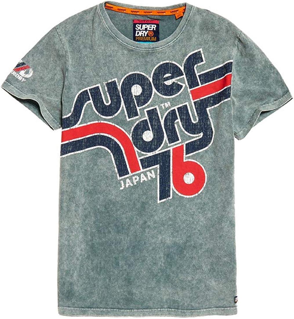 Superdry Retro Classic tee Camiseta de Tirantes para Hombre: Amazon.es: Ropa y accesorios