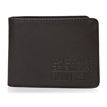 G-STAR Parker Originals Wallet - Black - Cartera para hombre, color