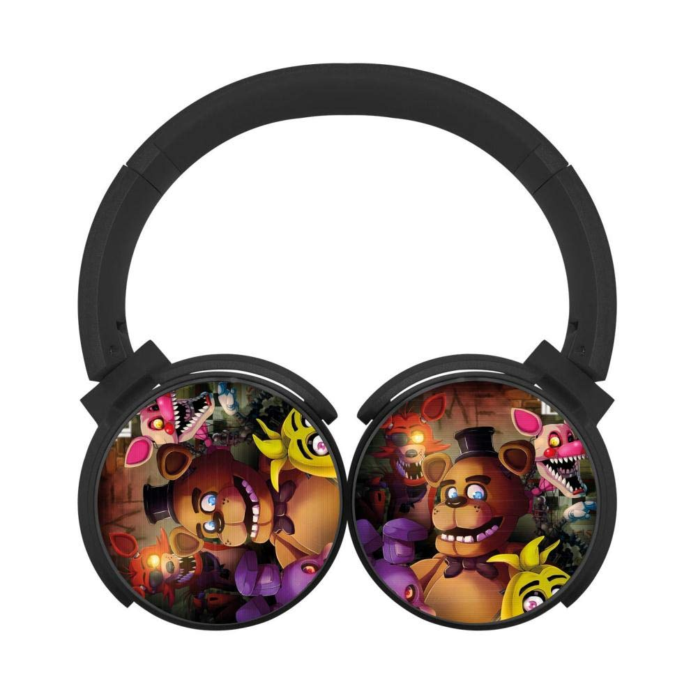 DDFdeer Five-Nights-at-Freddys Stereo Deep Bass Wired Headphones Earphones