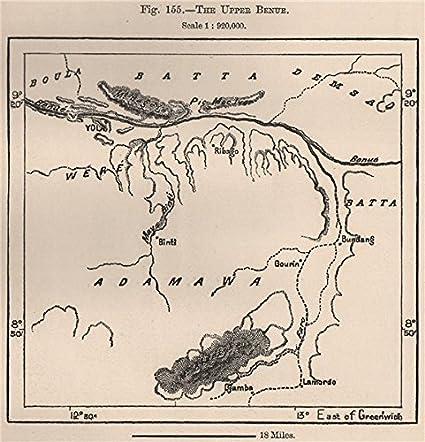 Amazon.com: La parte superior Benue río. Yola. Camerún ...