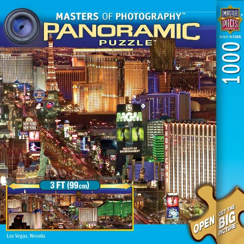 Las Vegas Panoramic Puzzle (MasterPieces / Masters of Photography Panoramic Puzzle, Las Vegas)