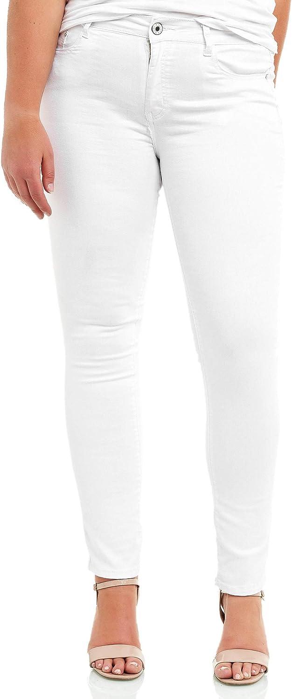 Elara Jeans para Mujer Slim Fit Talla Grande Chunkyrayan