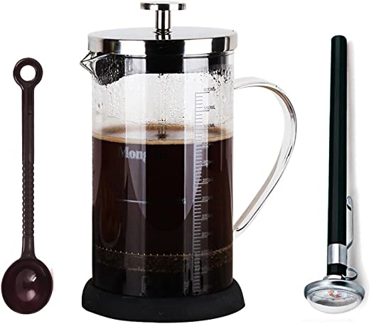 350 ml de vidrio escala Mark taza de café eléctrica filtro de ...