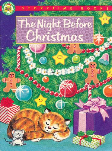 Book cover for The Night Before Christmas