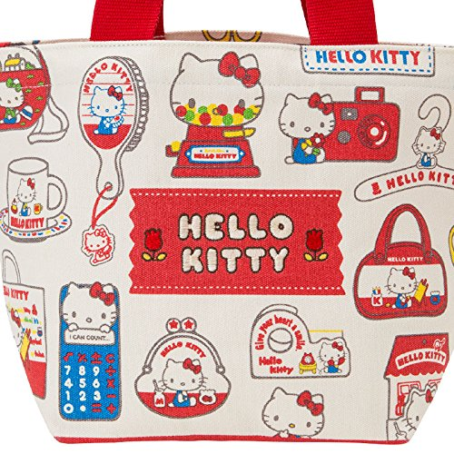 Sanrio Hello Kitty tote bag retro pop From Japan New by Sanrio