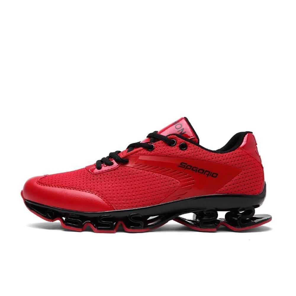 NANXIE Zapatos Deportivos Ligeros para Hombres Zapatos Deportivos multifuncionales Zapatos Deportivos para Hombres nuevos de Malla Respirable de Verano (Color : Rojo, tamaño : 45) 45|Rojo