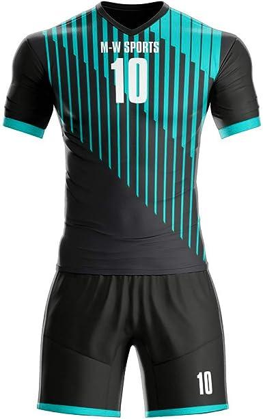 MW Sports Purple Soccer Jerseys Full kit Custom Football Uniforms Set Goalkeeper Sportswear