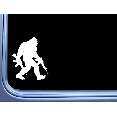 EZ-STIK Bigfoot Packing AR\'s Sticker M311 6 Inch Decal Sasquatch Squatch yeti Window: Automotive [5Bkhe1508926]