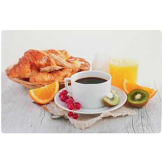 Promobo - Juego de mesa desayuno Design Gourmand Croissant taza ...